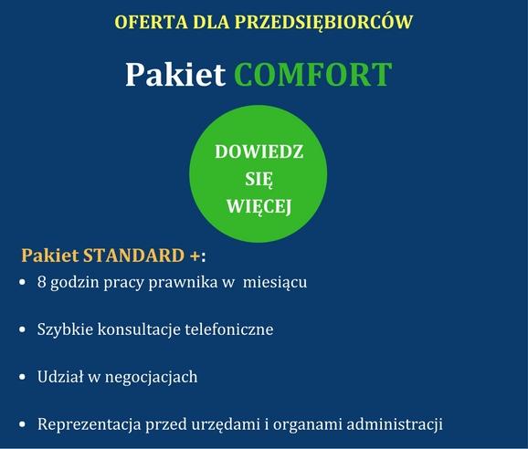 Pakiet comfort dla firm