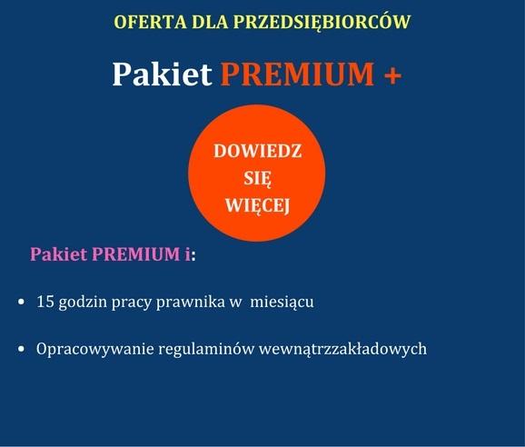 Pakiet premium plus dla firm