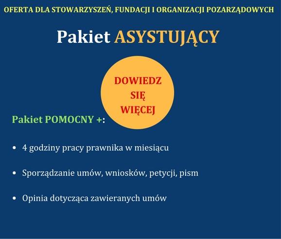 Porady Pranwe Gdynia NGO Pakiet asystujący