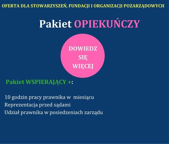 Porady Prawne Gdynia NGO Pakiet opiekuńczy